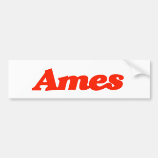 エームズのバンパーステッカー バンパーステッカー