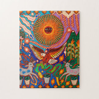オアハカ州メキシコのメキシコマヤの種族の芸術のBoho旅行 ジグソーパズル