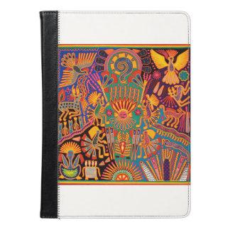 オアハカ州メキシコのメキシコマヤの種族の芸術のBoho旅行 iPad Airケース