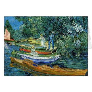 オアーズの銀行のゴッホの漕艇 カード