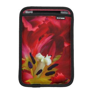 オウムのチューリップの花のインテリア iPad MINIスリーブ