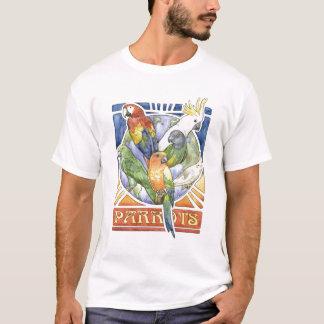 オウムの世界 Tシャツ