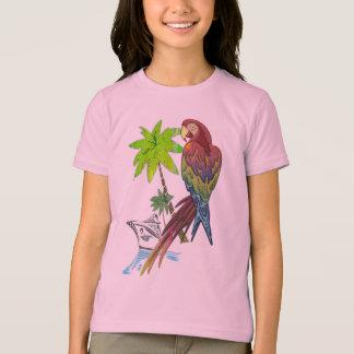 オウムの熱帯巡航 Tシャツ
