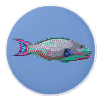 オウムの魚 セラミックノブ