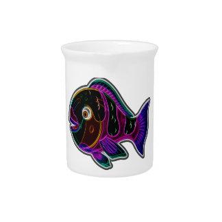 オウムの魚 ピッチャー