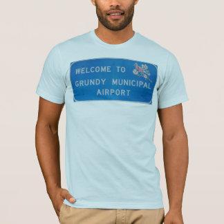 オウムのGrundy空港 Tシャツ