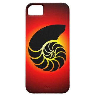 オウムガイのシルエット iPhone SE/5/5s ケース