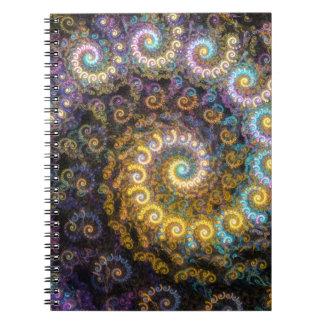 オウムガイのフラクタルの美しい ノートブック