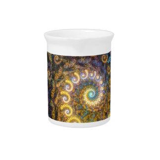 オウムガイのフラクタルの美しい ピッチャー