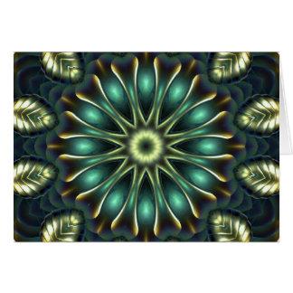オウムガイの曼荼羅2 グリーティングカード