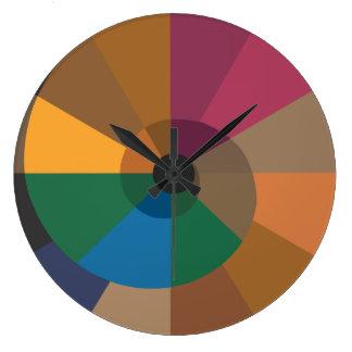 オウムガイの柱時計 ラージ壁時計