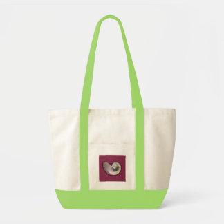 オウムガイの貝のバッグ トートバッグ