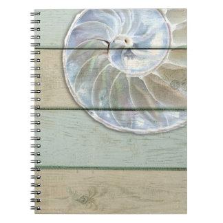 オウムガイの貝 ノートブック