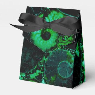 オウムガイの貝-緑のデザイン フェイバーボックス