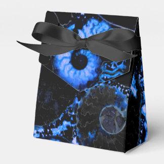 オウムガイの貝-青いデザイン フェイバーボックス