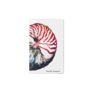 オウムガイのbelauensis ポケットMoleskineノートブック