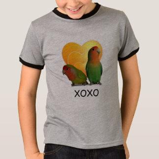 オウム愛の青年Tシャツの信号器 Tシャツ