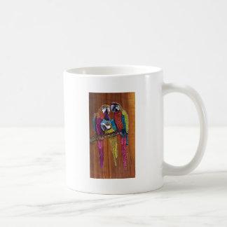 オウム コーヒーマグカップ