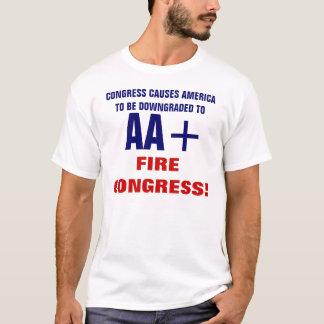 オウム+ 信用格付け Tシャツ