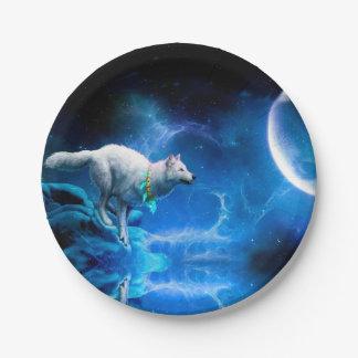 オオカミおよび月 ペーパープレート