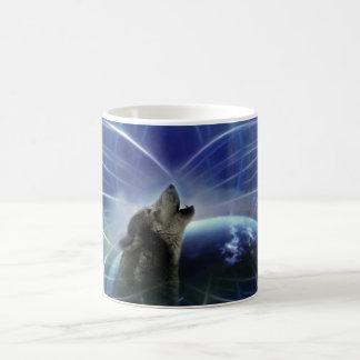 オオカミおよびdreamcatcher コーヒーマグカップ