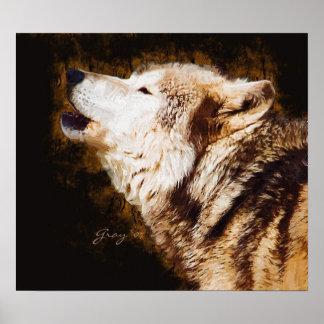 オオカミのほえること ポスター