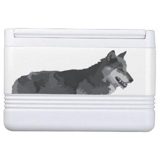 オオカミのクーラー IGLOOクーラーボックス