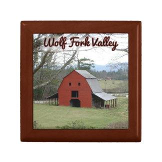 オオカミのフォークの谷のギフト用の箱の納屋 ギフトボックス
