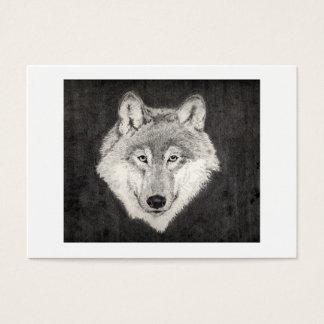 オオカミのプロフィールカード 名刺