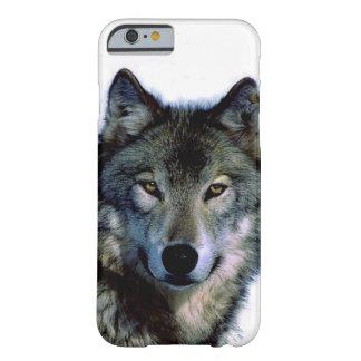 オオカミのポートレートのiPhone6ケース Barely There iPhone 6 ケース
