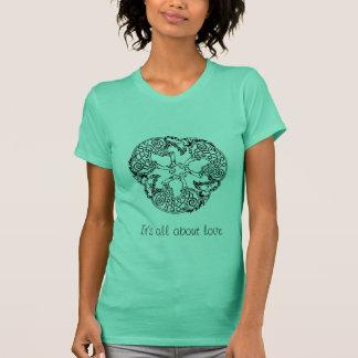 オオカミの円 Tシャツ