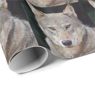 オオカミの包装紙 ラッピングペーパー