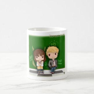 オオカミの女の子及び黒い王子の~エリカX Kyouya コーヒーマグカップ