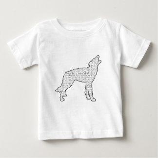 オオカミの当惑 ベビーTシャツ