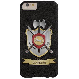 オオカミの戦いの頂上のSigilの黒 Barely There iPhone 6 Plus ケース