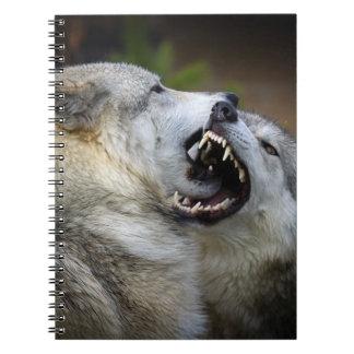 オオカミの戦い ノートブック