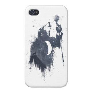 オオカミの歌(青い) iPhone 4/4Sケース