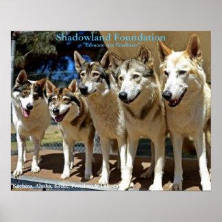 オオカミの演劇 ポスター