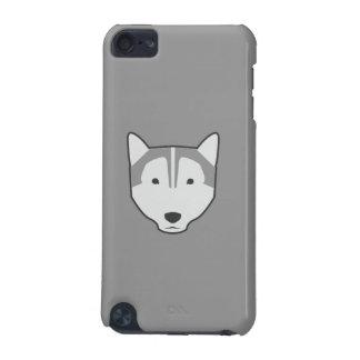 オオカミの灰色のipod touchの箱 iPod touch 5G ケース