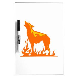オオカミの炎 ホワイトボード