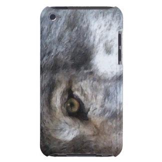 オオカミの目野性生物サポータIpod touchの場合 Case-Mate iPod Touch ケース
