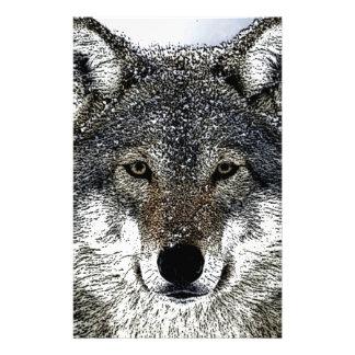 オオカミの目 便箋