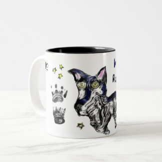 オオカミの石 ツートーンマグカップ