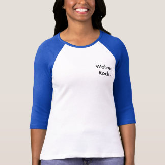 オオカミの石 Tシャツ