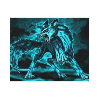 オオカミの精神 キャンバスプリント