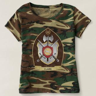 オオカミの紋章学の頂上Sigilブラウン Tシャツ