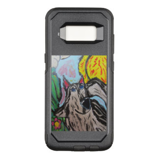オオカミの芸術2 オッターボックスコミューターSamsung GALAXY S8 ケース