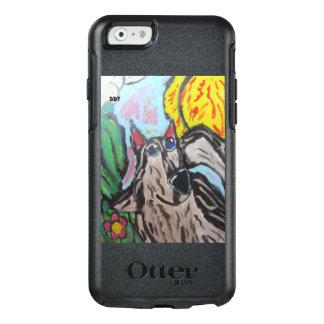 オオカミの芸術3 オッターボックスiPhone 6/6Sケース