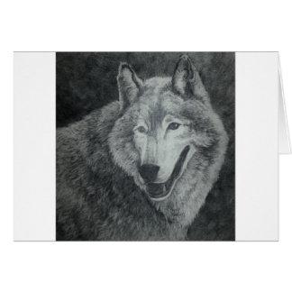 オオカミの芸術 カード