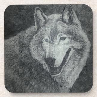 オオカミの芸術 コースター
